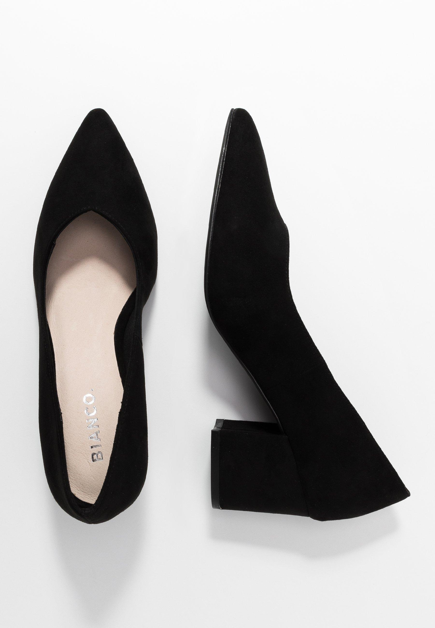 Bianco Biadivided V Cut - Classic Heels Black