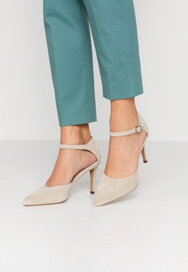 BIACAIT ANKLE STRAP - High Heel Pumps - beige
