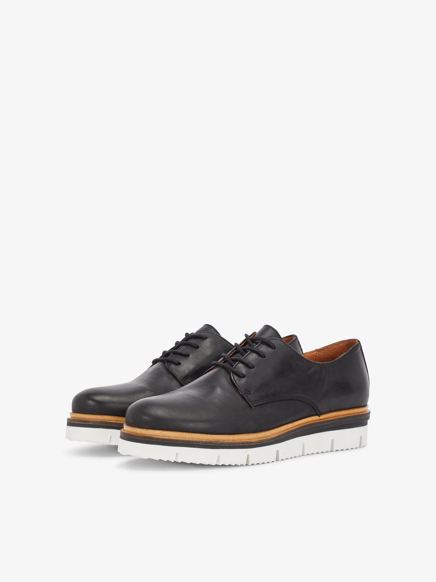 Bianco Derby - Casual Lace-ups Black