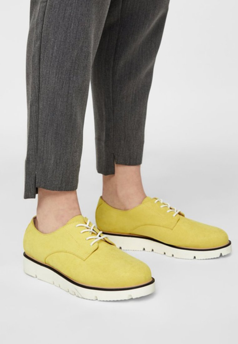 Bianco - DERBY  - Trainers - yellow