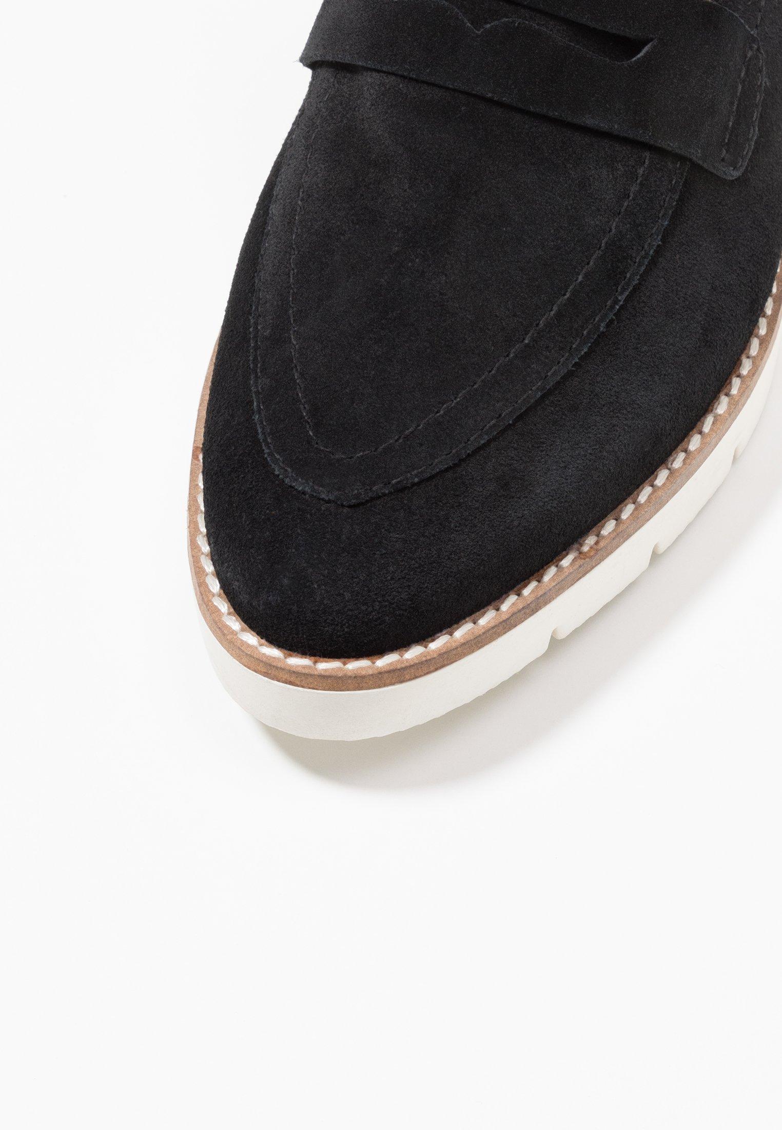 Bianco Biacarla Loafer - Mocassins Black