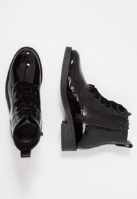 Bianco - LACED UP - Ankelboots - black - 3