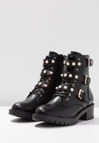 Bianco - Bottines à lacets - black - 4