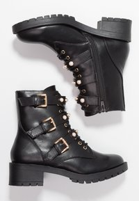 Bianco - Bottines à lacets - black - 3
