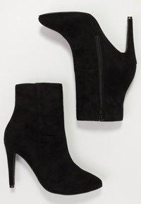 Bianco - BFBERNIA - Kotníková obuv na vysokém podpatku - black - 3