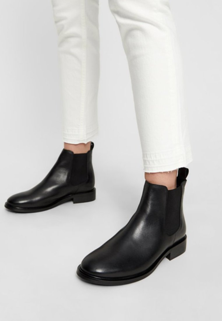Bianco - JESSICA - Classic ankle boots - black