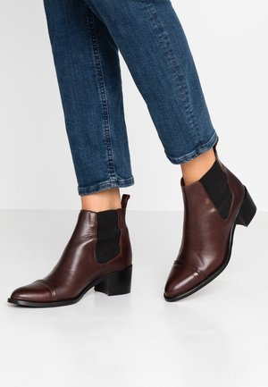 BIACAROL DRESS CHELSEA - Ankle boots - dark brown