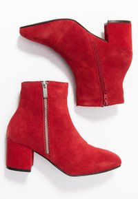 Bianco - BIACEIL ZIP - Ankle boots - winered - 3