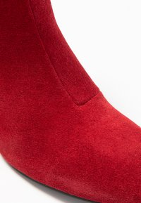 Bianco - BIACEIL ZIP - Ankle boots - winered - 2