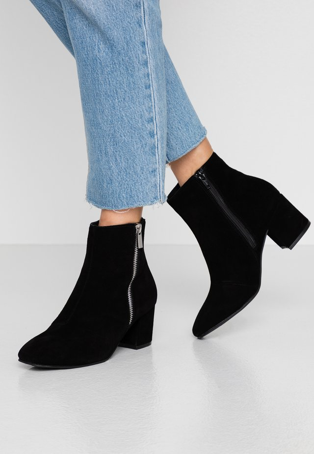 BIACEIL ZIP - Ankle boots - black