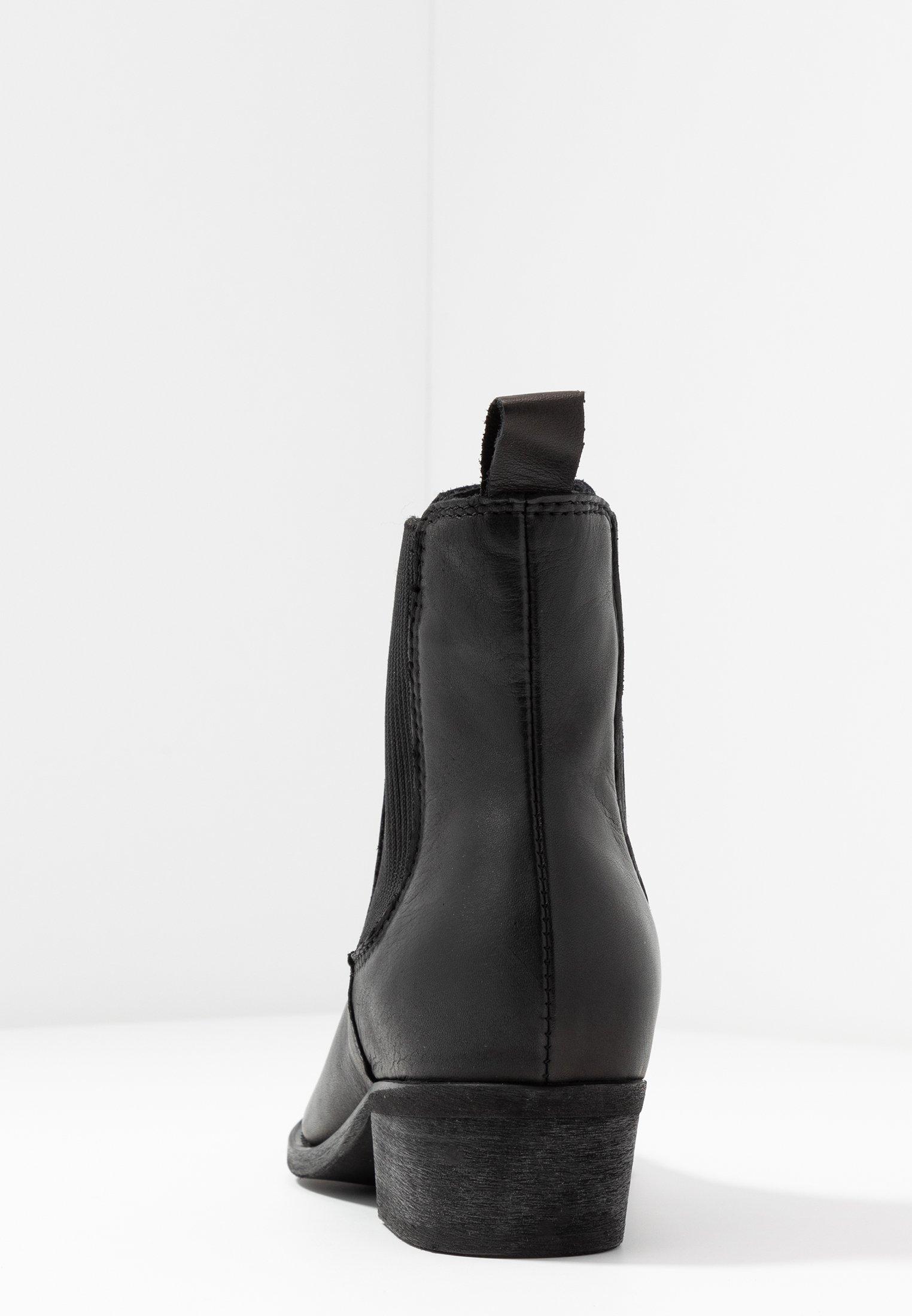 Bianco Biacoco Chelsea Western - Støvletter Black