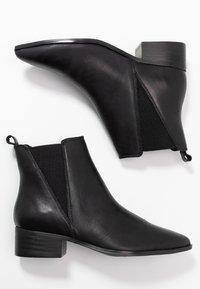 Bianco - BIACHANA STUDS BOOT - Støvletter - black - 3