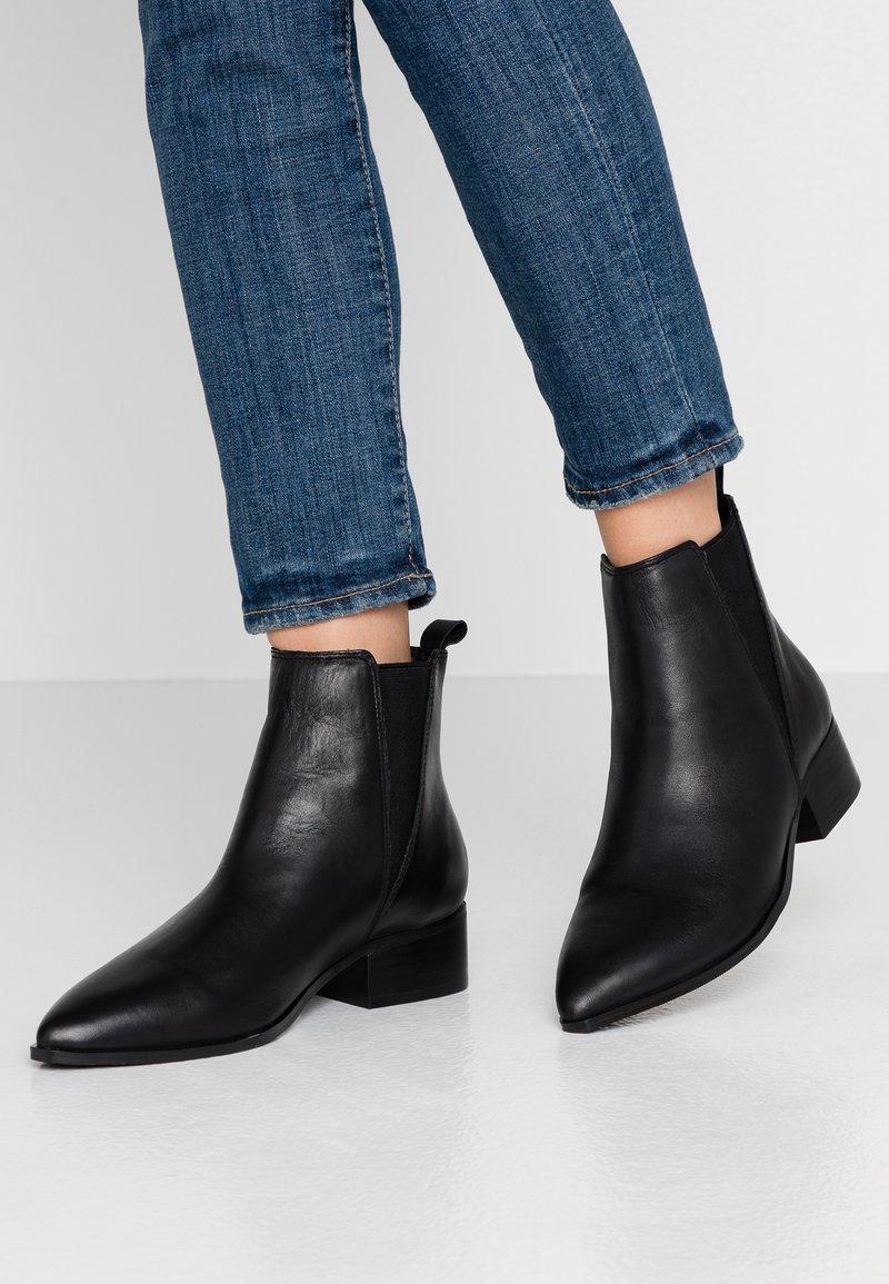 Bianco - BIACHANA STUDS BOOT - Støvletter - black