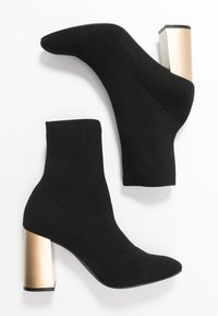 Bianco - BIAELLIE BOOT - Classic ankle boots - black - 3