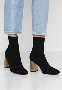 Bianco - BIAELLIE BOOT - Classic ankle boots - black - 0