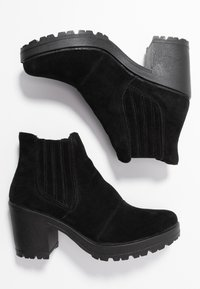 Bianco - BIACORVINA BOOT - Kotníková obuv - black - 3