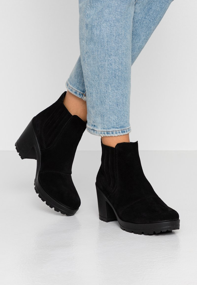 Bianco - BIACORVINA BOOT - Ankelstøvler - black