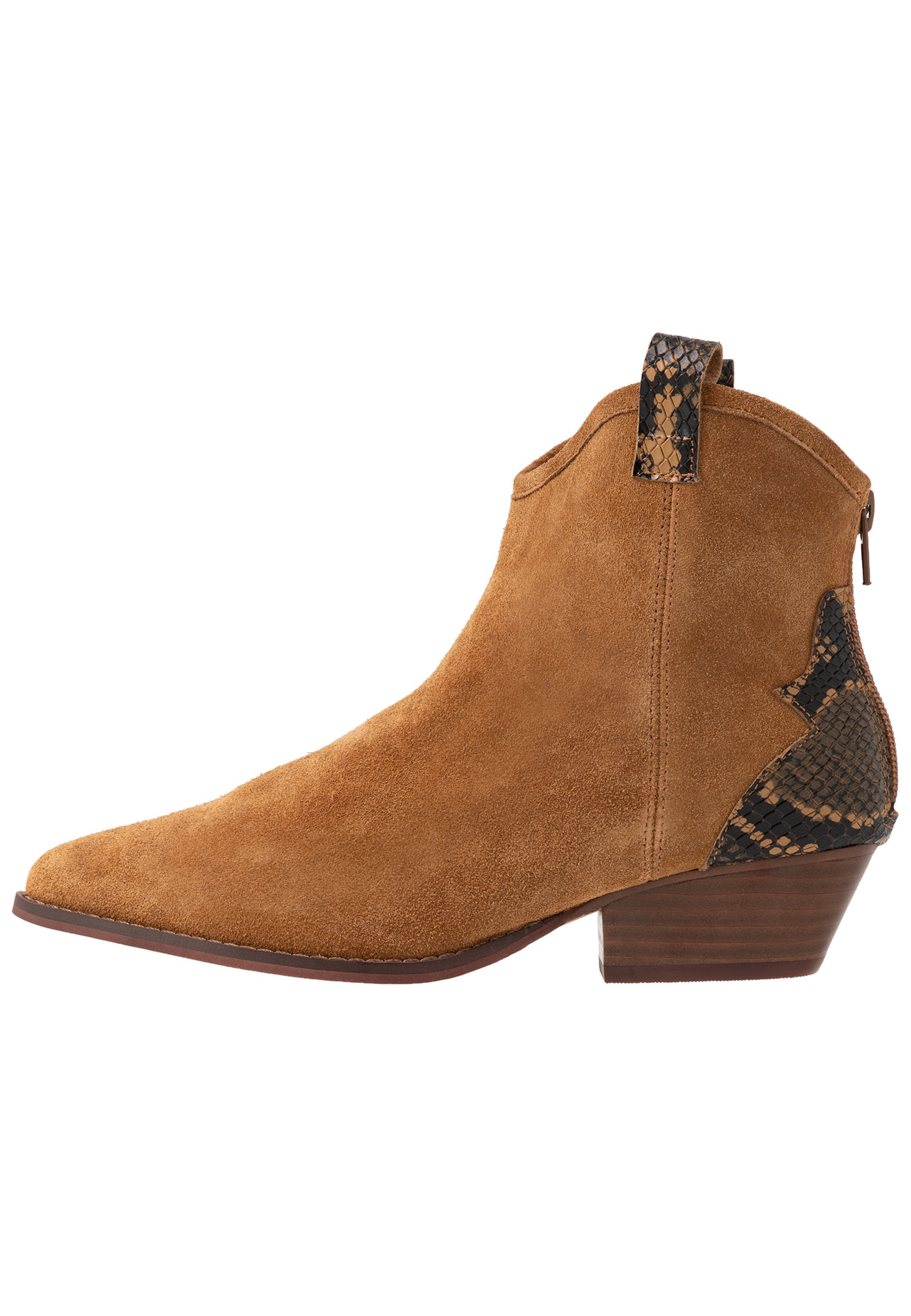 Bianco Biadaya Western Boot - Stivaletti Texani / Biker Light Brown G00r2se
