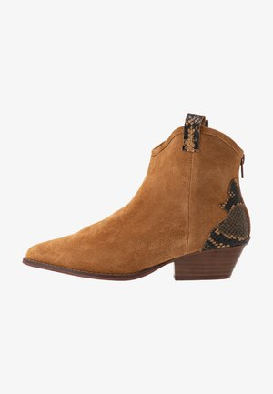 BIADAYA WESTERN BOOT - Cowboy-/Bikerlaarsjes - light brown