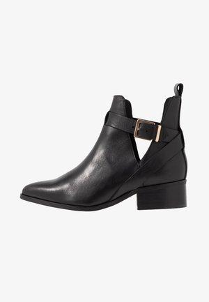 BIAOPEN BOOT - Bottines - black