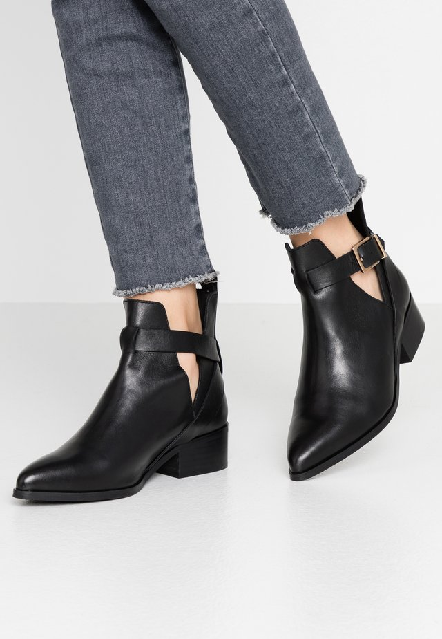 BIAOPEN BOOT - Nilkkurit - black