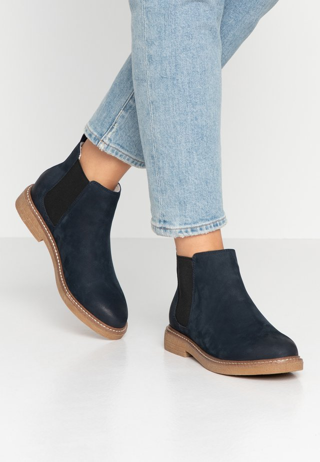 BIAAGNES CHELSEA - Ankle boot - navy blue