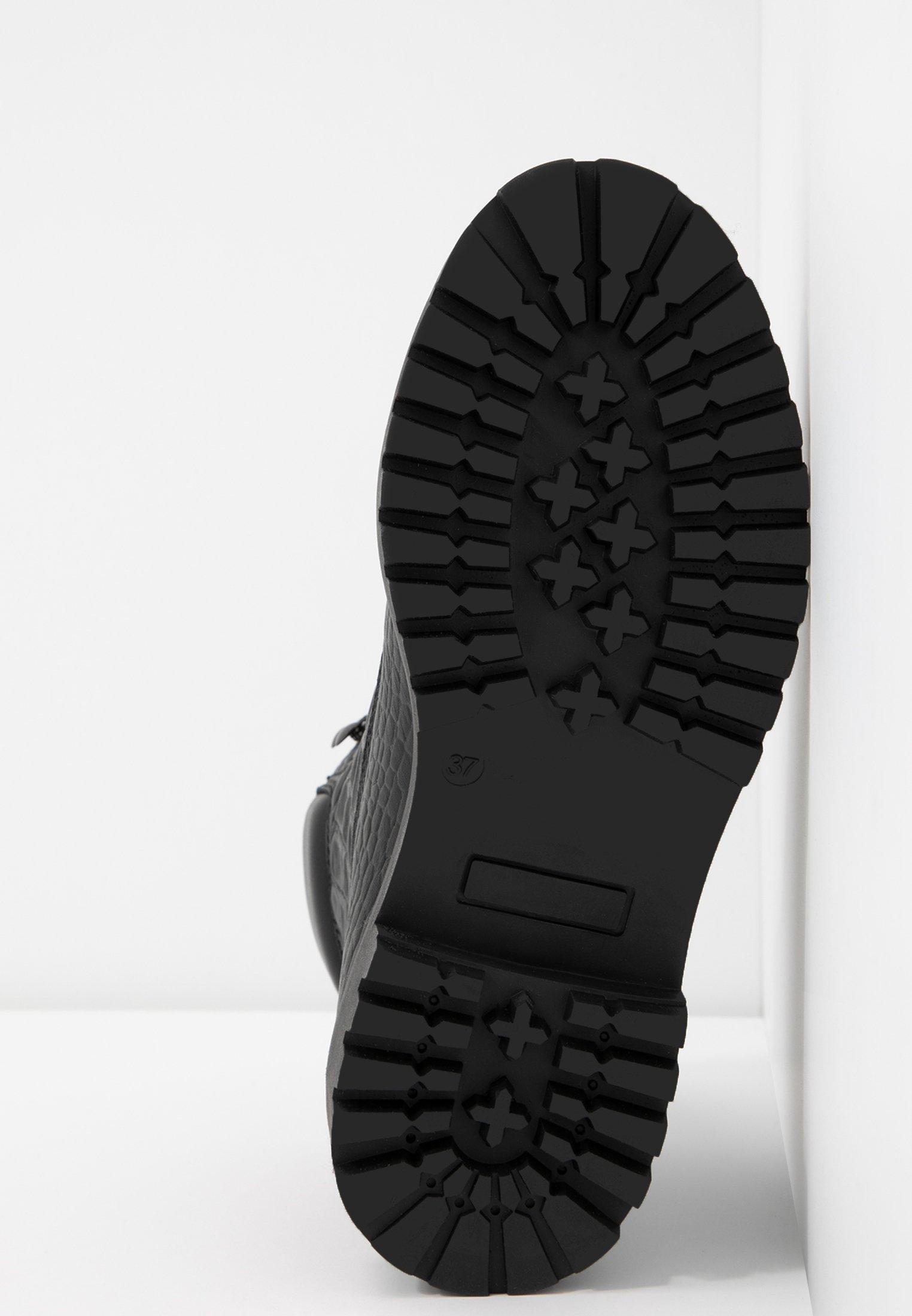 Bianco BIACHARLIE WINTER HIKING BOOT - Bottines à lacets black