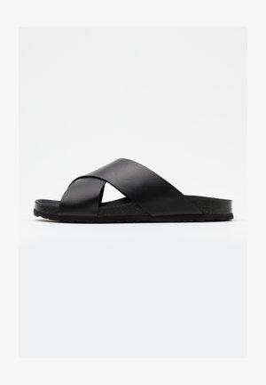 BIACEDAR - Pantofle - black