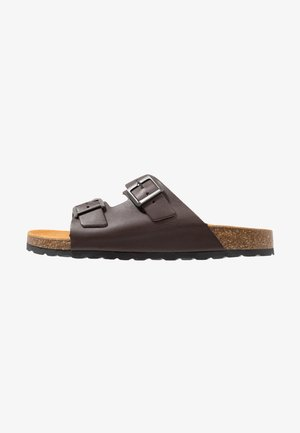 BIACEDAAR - Domácí obuv - brown