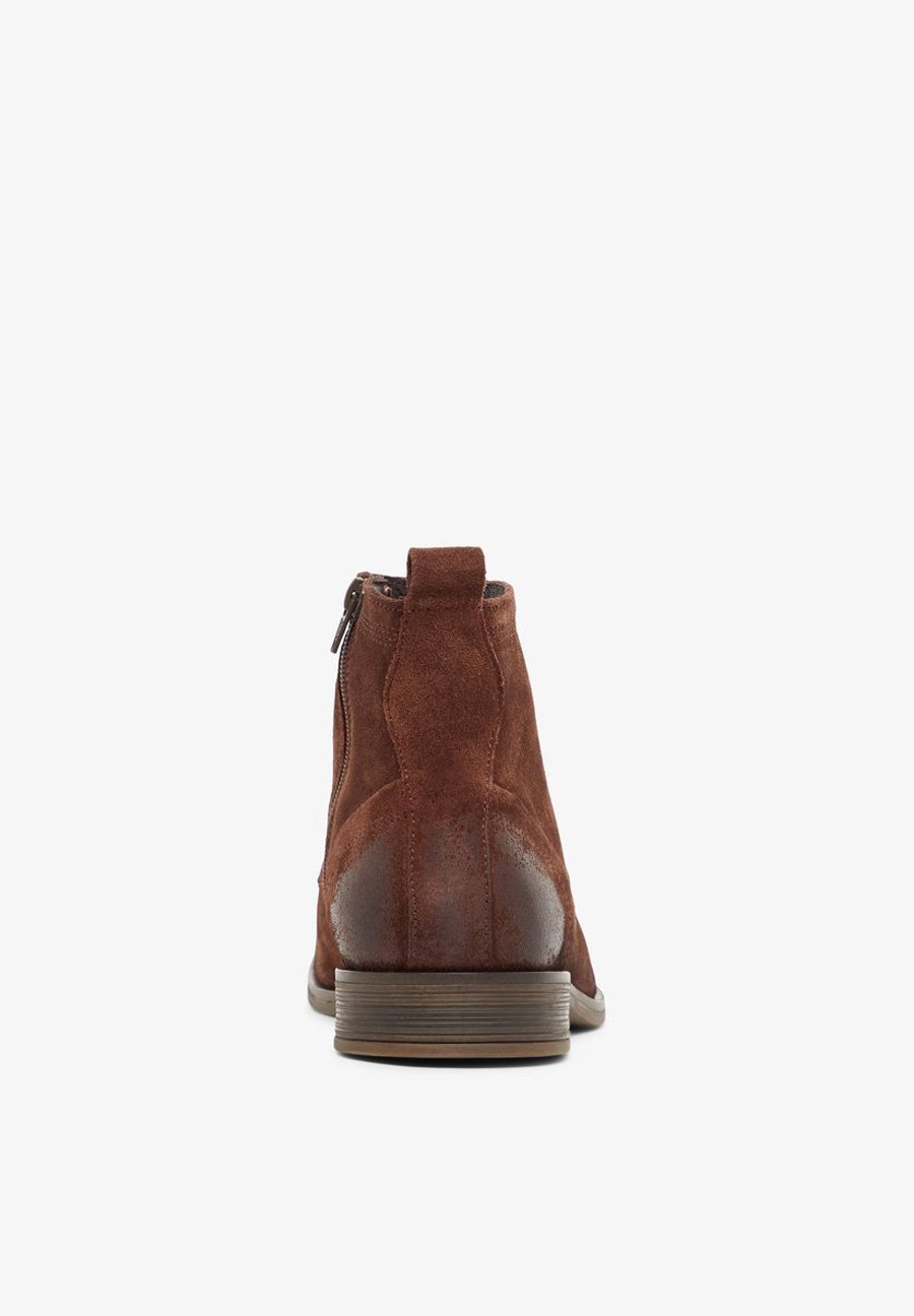 Bianco LACED UP BOOT - Bottines à lacets - brown
