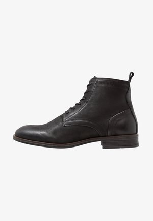 LACED UP BOOT - Stivaletti stringati - black