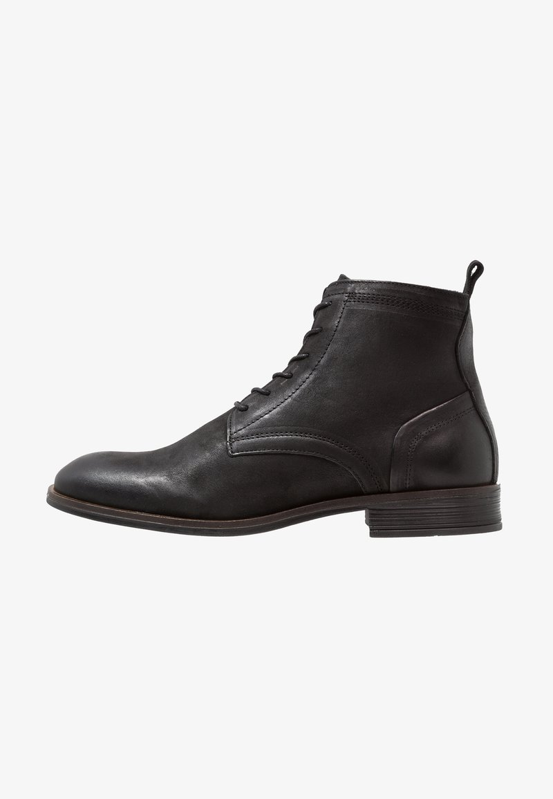 Bianco - LACED UP BOOT - Snørestøvletter - black