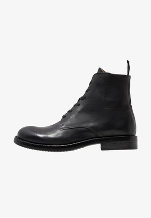 BFACE BOOT - Lace-up ankle boots - black