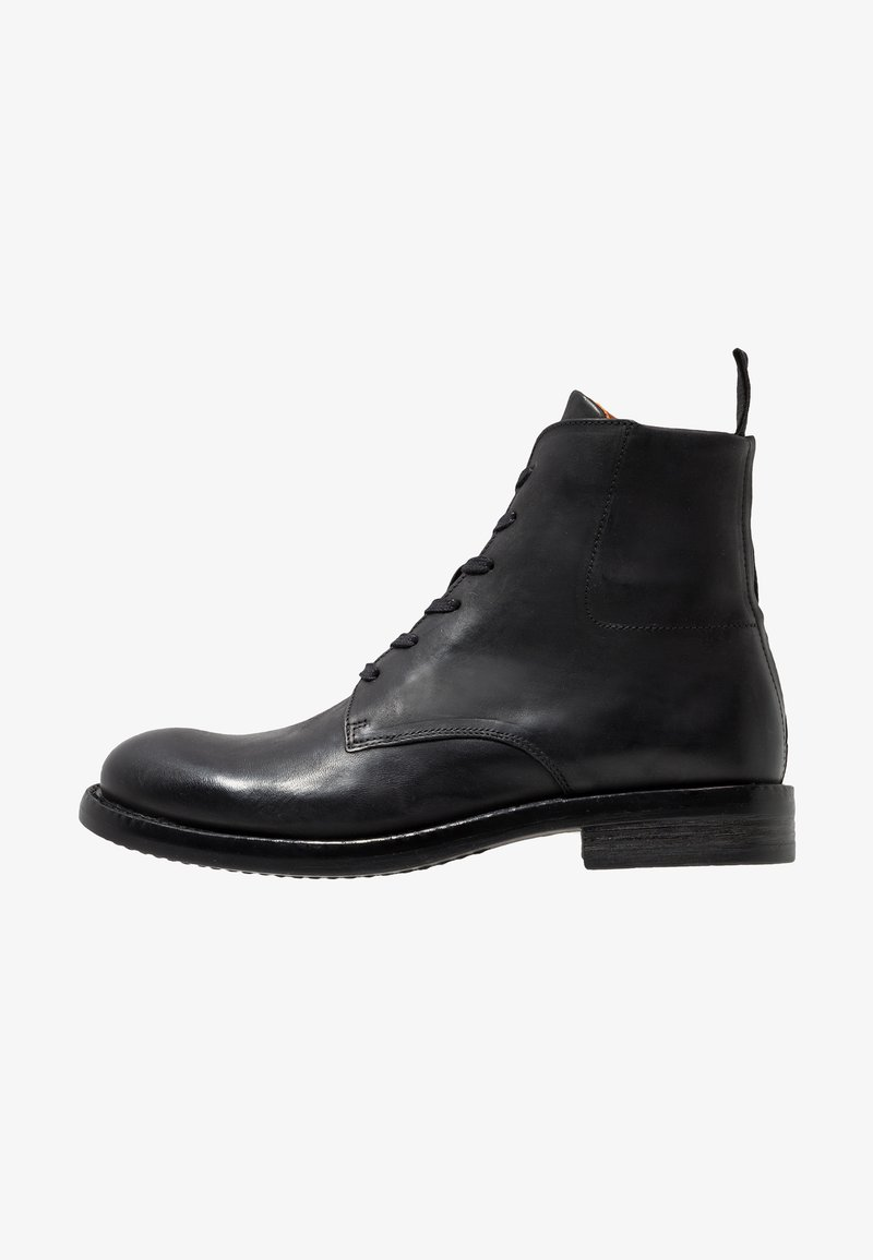 Bianco - BFACE BOOT - Lace-up ankle boots - black