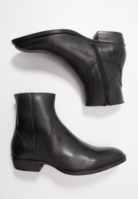 Bianco - BIABECK BOOT - Classic ankle boots - black - 1