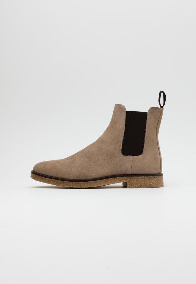 BIADINO CHELSEA BOOT - Korte laarzen - beige
