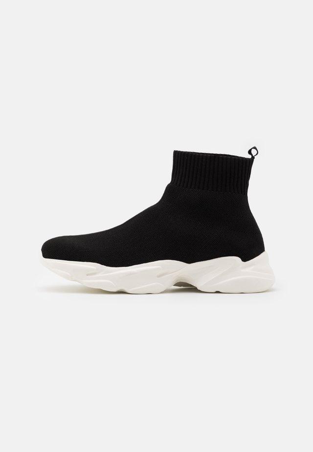 BIACASE SOCK - Sneakers hoog - black