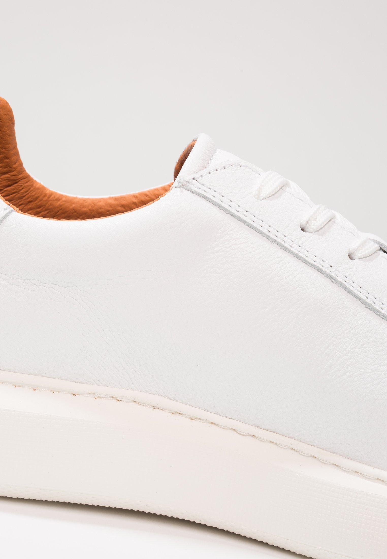 Bianco CLEAN KING - Sneakers basse - white