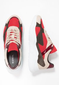 Bianco - BIACALIX - Sneakers basse - red - 1