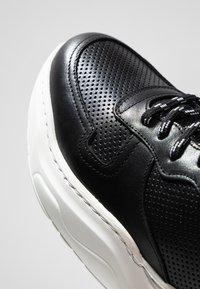Bianco - BIABAY - Baskets basses - black - 5