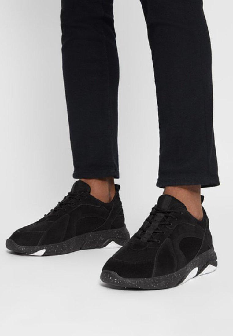 Bianco - ANDRE - Sneakers basse - black