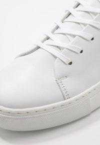 Bianco - BIAAJAY LEATHER SNEAKER - Tenisky - white - 6