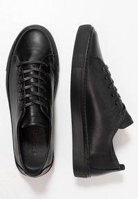 Bianco - BIAAJAY LEATHER SNEAKER - Sneakersy niskie - black - 1