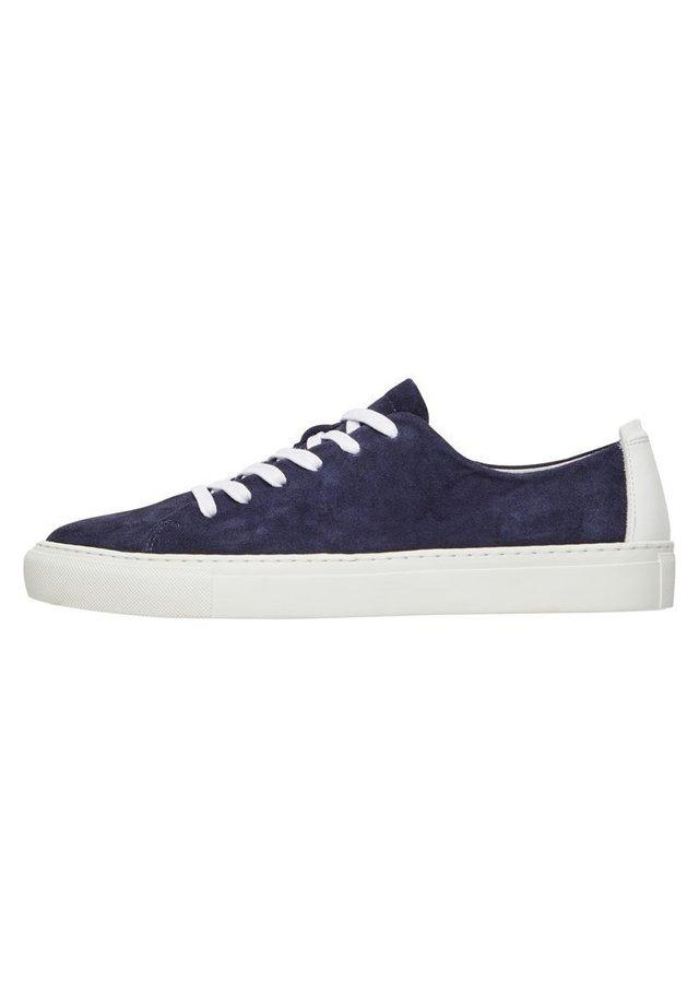 Sneakers laag - navyblue1
