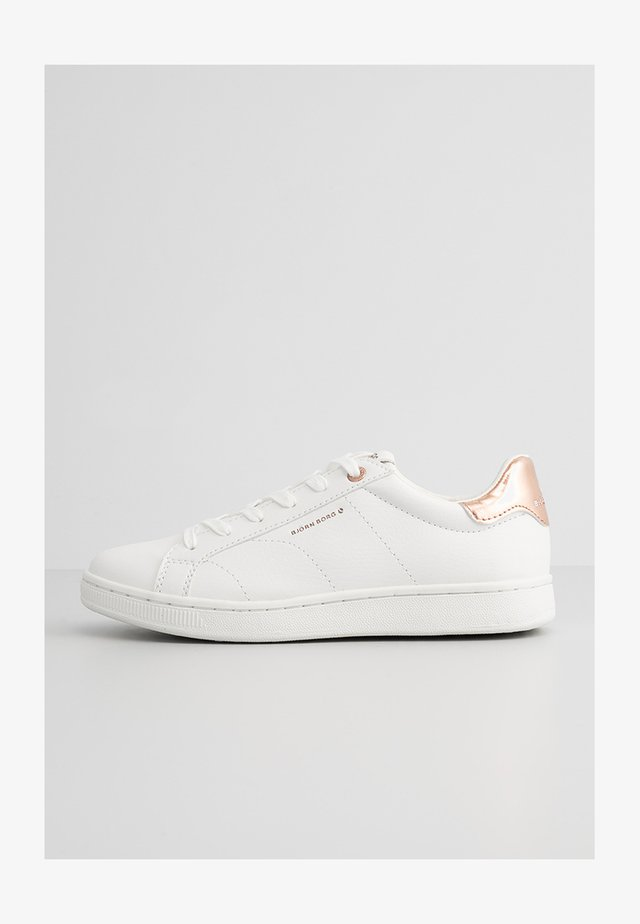 Sneakersy niskie - white-rose gold