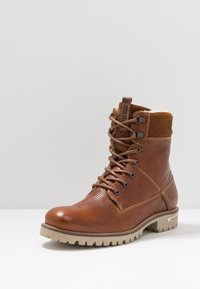 Björn Borg - KENN - Lace-up ankle boots - tan - 2