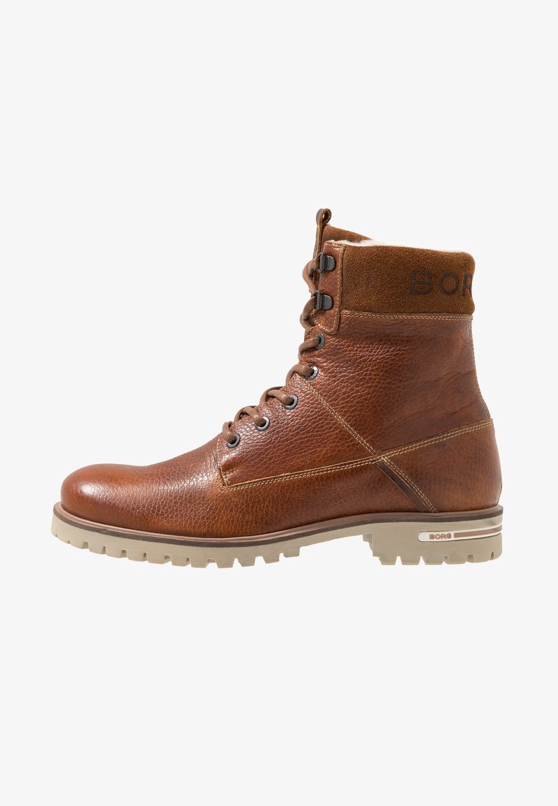 Björn Borg - KENN - Lace-up ankle boots - tan