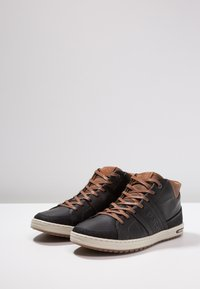 Björn Borg - CURD MID - Sneakers alte - black - 2