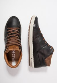 Björn Borg - CURD MID - Sneakers alte - black - 1