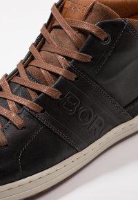 Björn Borg - CURD MID - Sneakers alte - black - 5
